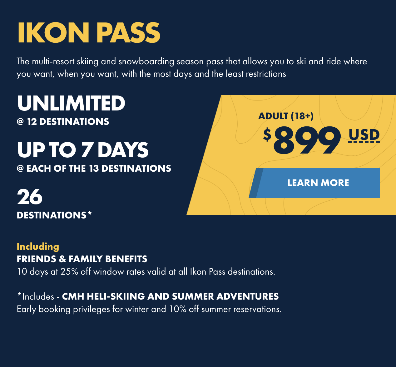 IKON Pass Purchase